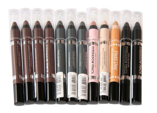 12 x Collection Work the Colour & Field Day Eyeshadow Pencils  | RRP £38